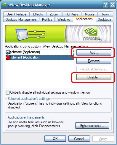 Nvidia Nview Desktop Manager Windows 7