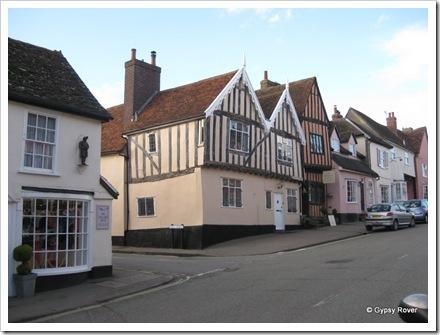 Tudor town of Lavenham