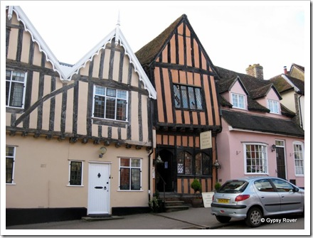 The crooked house of Lavenham.