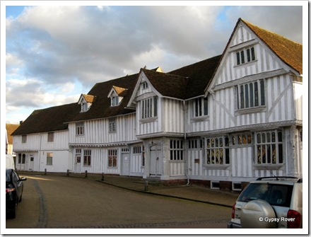 The Guildhall in Lavenham, Suffolk.