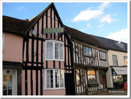 The Bakery in Lavenham, Suffolk.