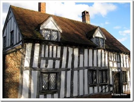 Tudor town of Lavenham.