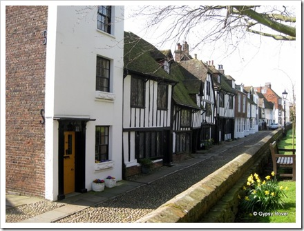 Cobbled streets of Rye.