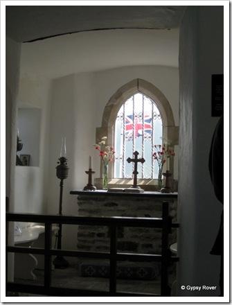 Inside the Little Chapel.