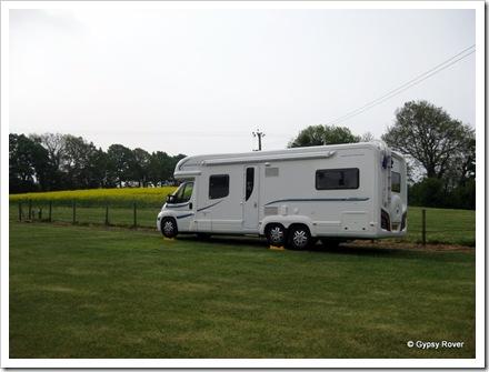 Gypsy Rover at Bayardo Farm Marlborough, Wiltshire.