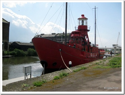 Light ship from the Spurn sandbank from 1959-85.