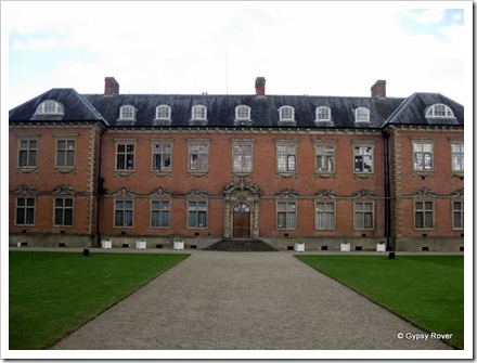 Tredegar House. The original main entrance.