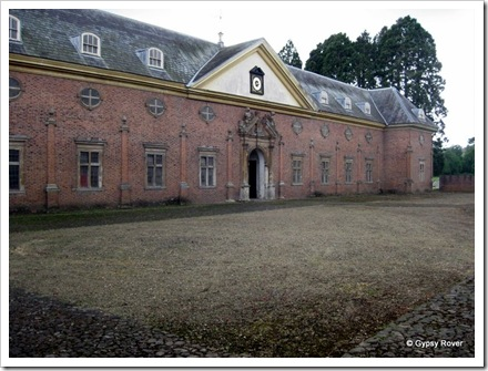 The stables of Tredegar House.
