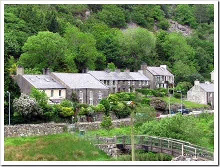 Welsh mountain village.