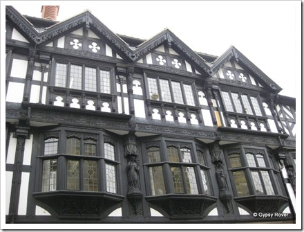 Chester's 19th century Tudor.