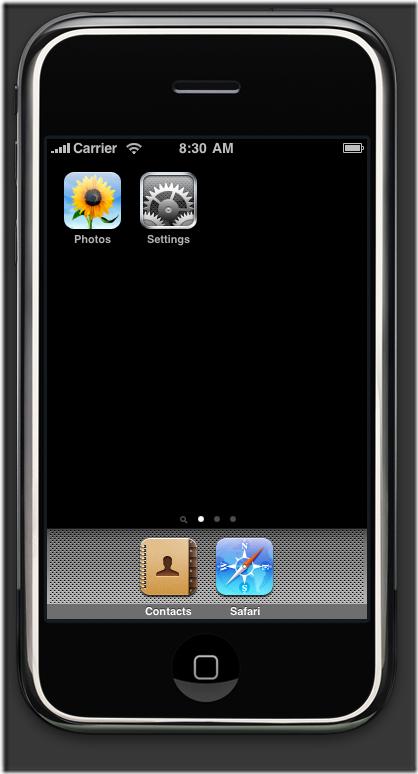 iPhone-simulator