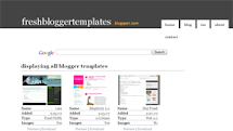 Fresh Blogger Templates