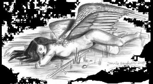 disegno di un angelo