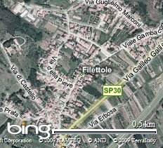 Veduta aerea di Filettole