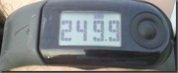 total mileage