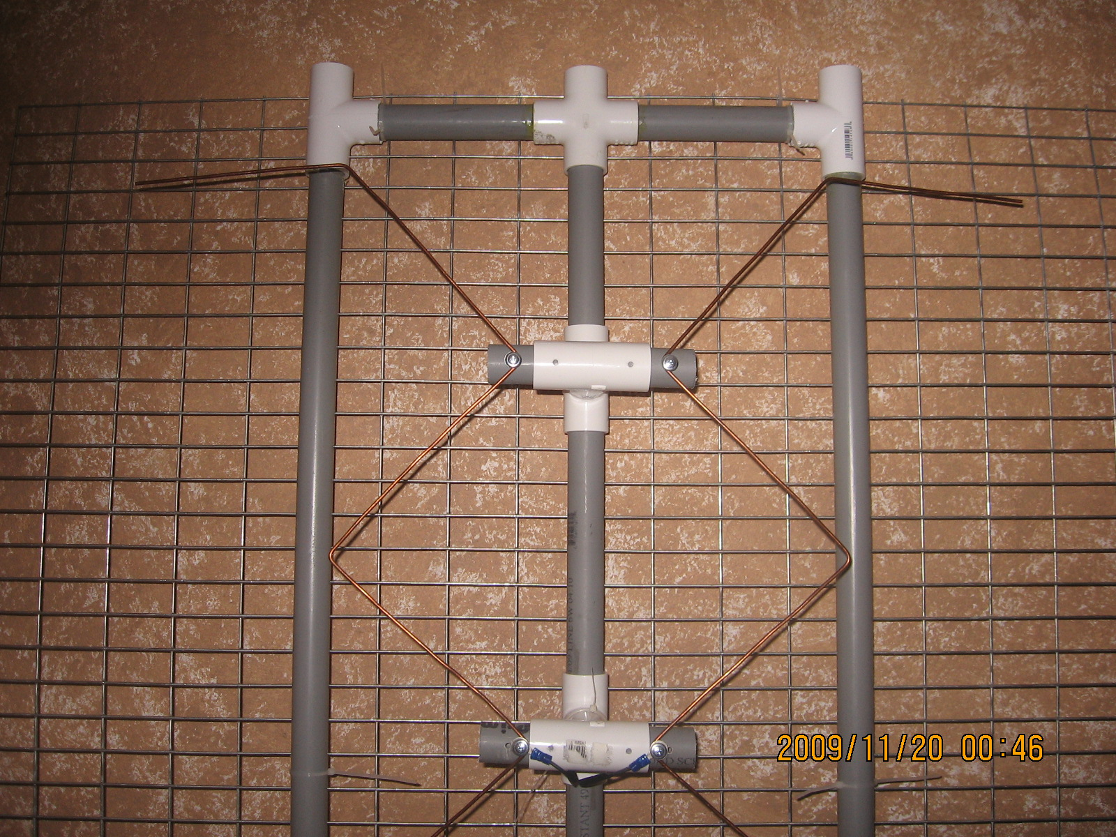 My Gray Hoverman Mayhem Creations 8 Bay Antenna Wiring Diagram New With Reflector Only The 1 Gap Hasnt Been Cut Yet