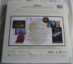 Tron laserdisc - back