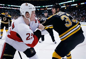 Chris Neil vs Zdeno Chara