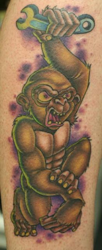 Earl Funk Trinity Tattoo Monkey