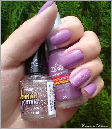 Violeta - Colorama e Pink Star - Hanna Montana