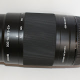 The 75-300 Lens at 75mm