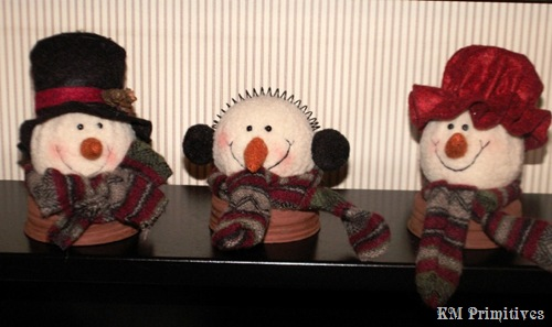 SnowmanHeadJarToppers