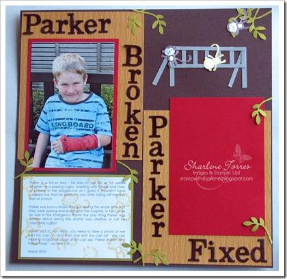 parker broken page
