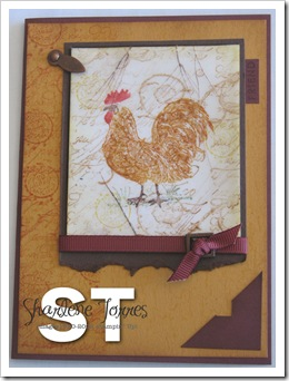 RUSTIC ROOSTER