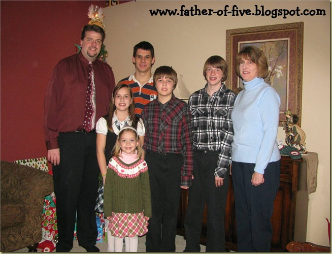 father of five