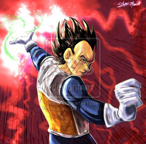 DBZ  All Hail by AfterTheBreaking Megapost   Imagenes de Dragon Ball   Parte 3   Vegeta