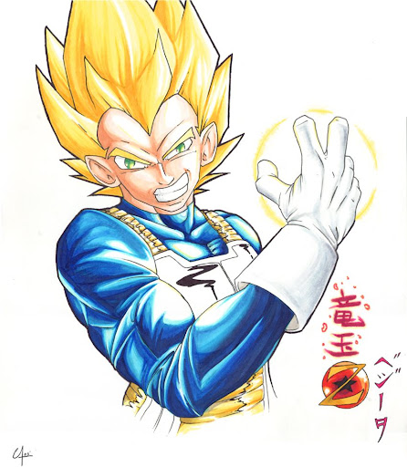 Great Galaxies Kakarot by bladeboy Megapost   Imagenes de Dragon Ball   Parte 3   Vegeta
