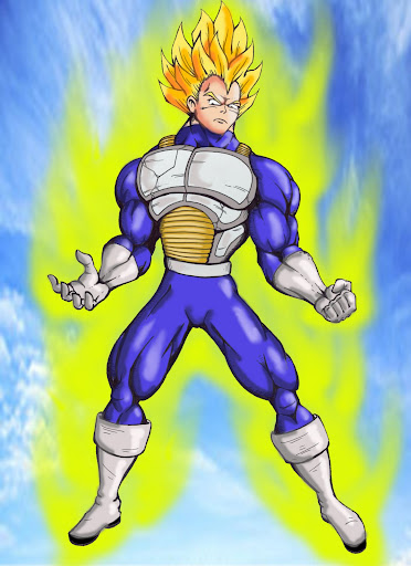 Vegeta by TheMadArtist666 Megapost   Imagenes de Dragon Ball   Parte 3   Vegeta