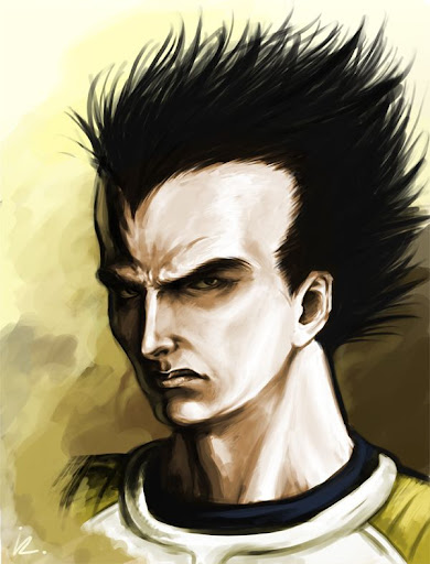 Vegeta by Iroisaac Megapost   Imagenes de Dragon Ball   Parte 3   Vegeta