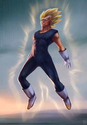 Vegeta by Hideyoshi Megapost   Imagenes de Dragon Ball   Parte 3   Vegeta