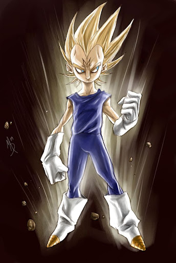 Majin Vegeta by madstalfos Megapost   Imagenes de Dragon Ball   Parte 3   Vegeta