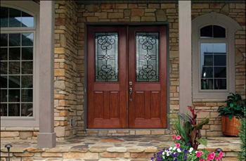 Fiber-Classic® Mahogany Collection™ with Salinas™ glass