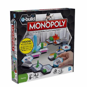 New U-Build Monopoly family board game by Hasbro – Review