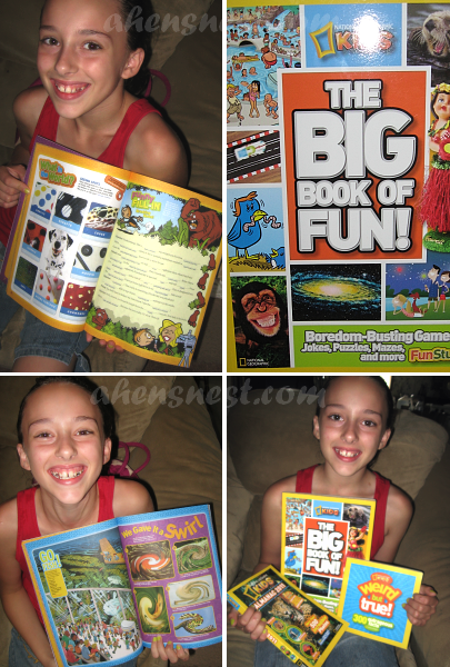 National Geographic Summer Boredom Buster Giveaway