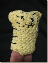 Mamafamilias's crocheted finger puppets