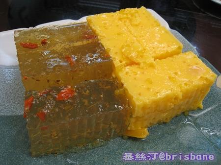 桂花糕&芒果布甸