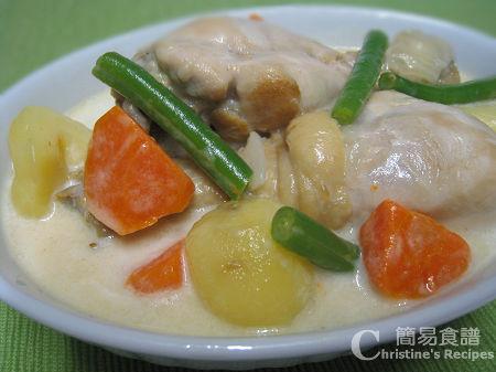椰汁雞 Chicken in Coconut Sauce