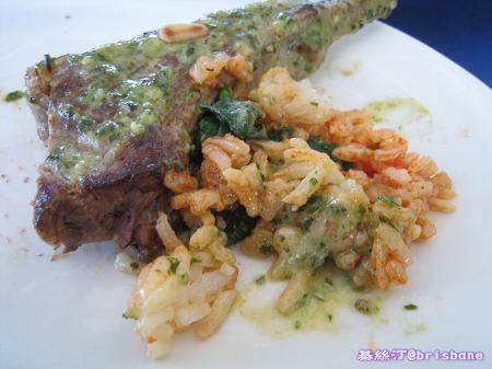焗羊扒配意大利有味飯 Lamb Cutlets Risotto02