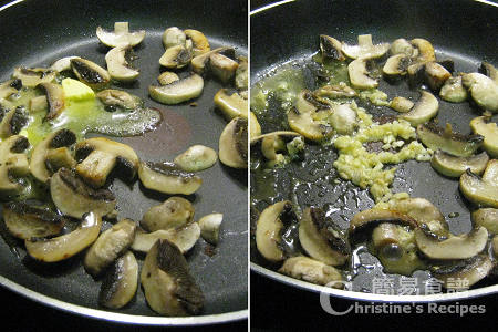 炒蘑菇 Stir Fried Mushrooms
