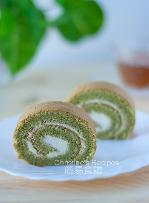 綠茶瑞士卷 Green Tea Swiss Roll01