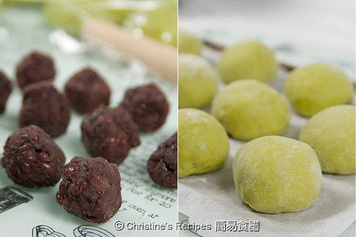 Japanese Green Tea Bread Procedures