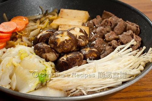 日式火鍋 Sukiyaki02