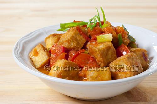 越式茄汁炸豆腐 Crisp Tofu in Tomato Sauce02