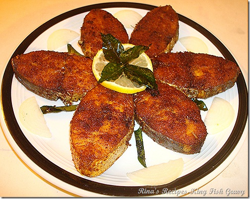 Rina's Recipes: King Mackerel Fish Fry