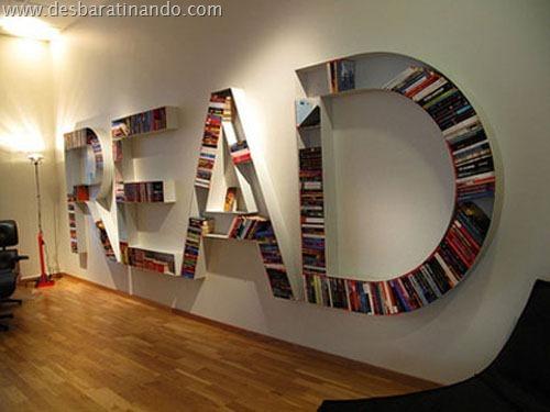 prateleiras diferentes interessantes geeks nerds livros (10)