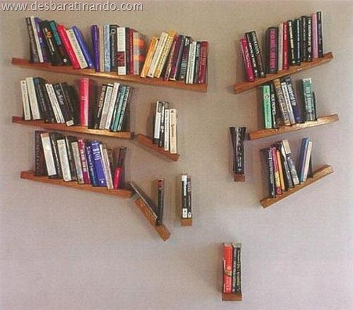prateleiras diferentes interessantes geeks nerds livros (13)